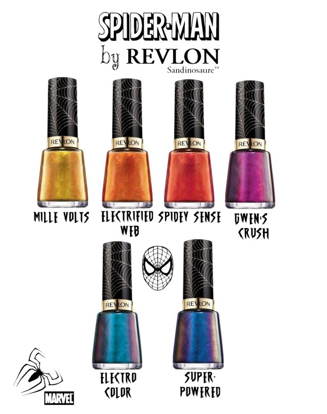 Revlon x spiderman